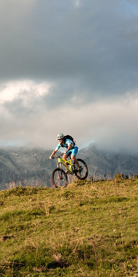 Mountainbiken in Hinterthal